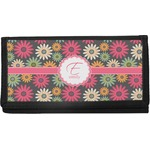 Daisies Canvas Checkbook Cover (Personalized)