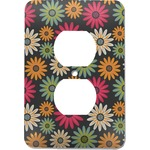 Daisies Electric Outlet Plate (Personalized)