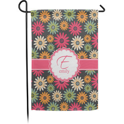 Daisies Single Sided Garden Flag With Pole (Personalized)