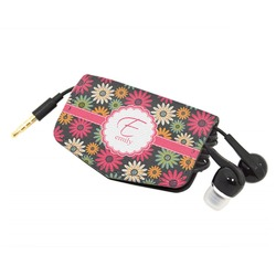 Daisies Genuine Leather Cord Wrap (Personalized)