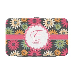 Daisies Genuine Leather Small Framed Wallet (Personalized)
