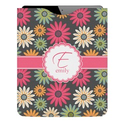 Daisies Genuine Leather iPad Sleeve (Personalized)
