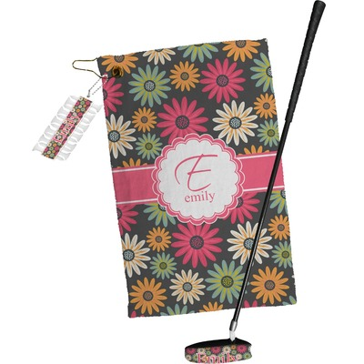 Daisies Golf Towel Gift Set (Personalized)