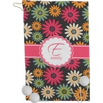 Daisies Golf Towel - Full Print (Personalized)