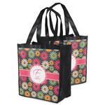 Daisies Grocery Bag (Personalized)