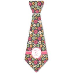 Daisies Iron On Tie (Personalized)