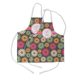 Daisies Kid's Apron w/ Name and Initial