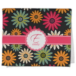 Daisies Kitchen Towel - Full Print (Personalized)
