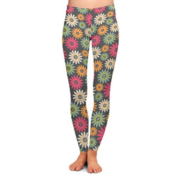 Daisies Ladies Leggings (Personalized)