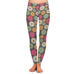 Daisies Ladies Leggings (Personalized)