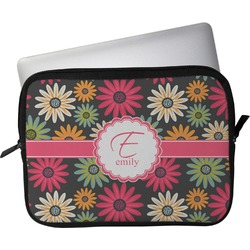 """Daisies Laptop Sleeve / Case - 12"""" (Personalized)"""