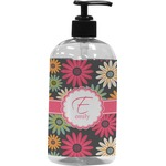 Daisies Plastic Soap / Lotion Dispenser (Personalized)