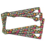 Daisies License Plate Frame (Personalized)