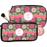Daisies Makeup / Cosmetic Bag (Personalized)
