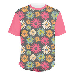Daisies Men's Crew T-Shirt (Personalized)