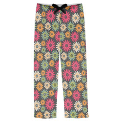 Daisies Mens Pajama Pants (Personalized)