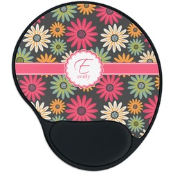 Daisies Mouse Pad with Wrist Support