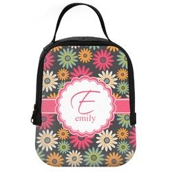 Daisies Neoprene Lunch Tote (Personalized)