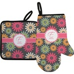 Daisies Oven Mitt & Pot Holder (Personalized)