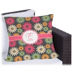 Daisies Outdoor Pillow (Personalized)