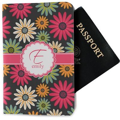 Daisies Passport Holder - Fabric (Personalized)