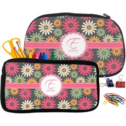 Daisies Pencil / School Supplies Bag (Personalized)