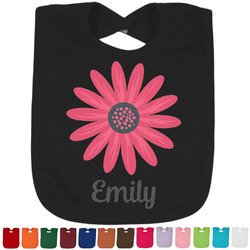 Daisies Bib - Select Color (Personalized)