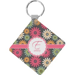 Daisies Diamond Key Chain (Personalized)