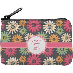 Daisies Rectangular Coin Purse (Personalized)