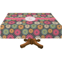 Daisies Rectangle Tablecloth (Personalized)