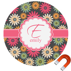 Daisies Car Magnet (Personalized)