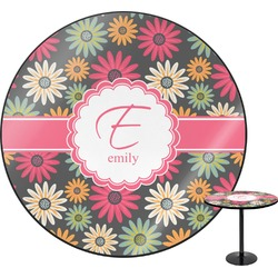 Daisies Round Table (Personalized)