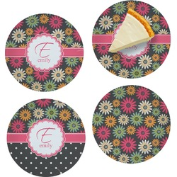 Daisies Set of Appetizer / Dessert Plates (Personalized)