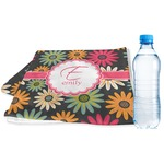 Daisies Sports & Fitness Towel (Personalized)