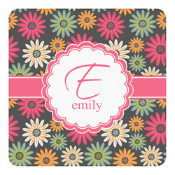 Daisies Square Decal - Custom Size (Personalized)