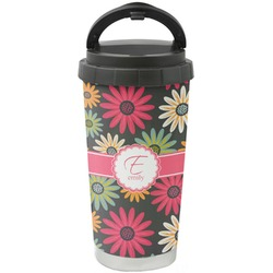 Daisies Stainless Steel Coffee Tumbler (Personalized)