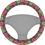 Daisies Steering Wheel Cover (Personalized)