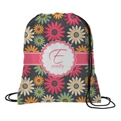 Daisies Drawstring Backpack (Personalized)