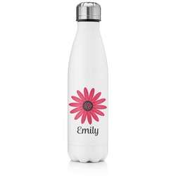 Daisies Tapered Water Bottle - 17 oz. - Stainless Steel (Personalized)