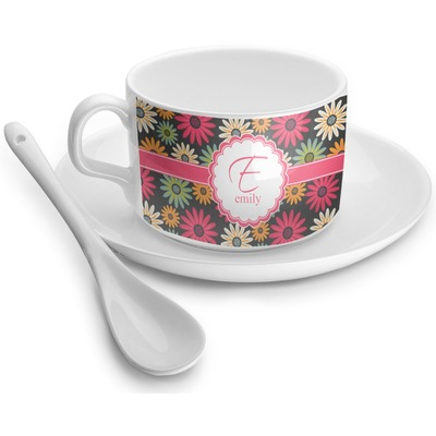 Daisies Tea Cups (Personalized)