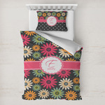 Daisies Toddler Bedding w/ Name and Initial