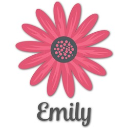 Daisies Graphic Decal - Medium (Personalized)