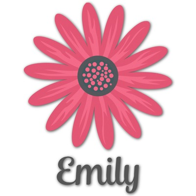 Daisies Graphic Decal - Custom Sizes (Personalized)