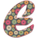 Daisies Letter Decal - Custom Sized (Personalized)