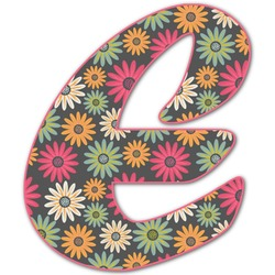 Daisies Letter Decal - Large (Personalized)