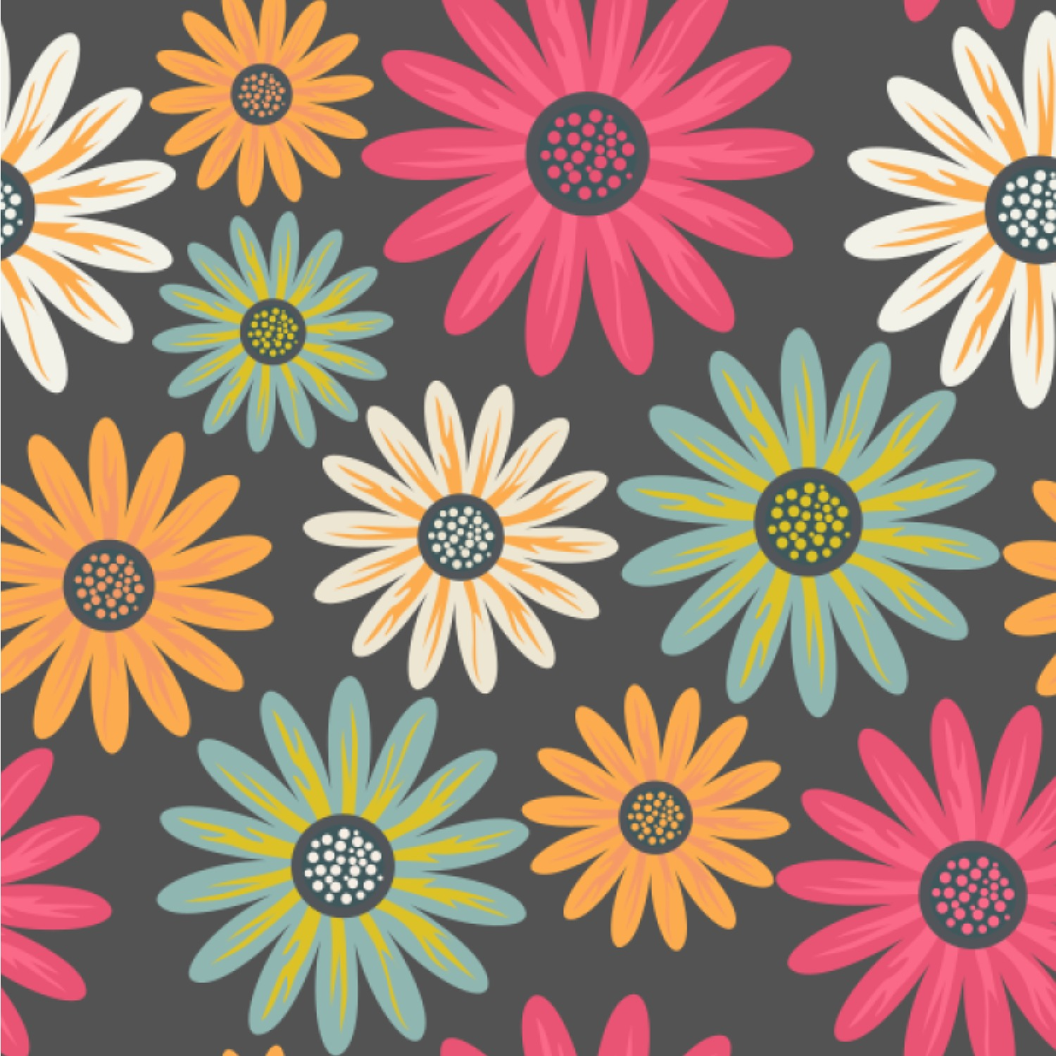 Daisies Wallpaper Surface Covering