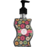 Daisies Wave Bottle Soap / Lotion Dispenser (Personalized)