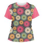 Daisies Women's Crew T-Shirt (Personalized)