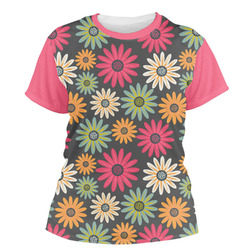 Daisies Women's Crew T-Shirt (Personalized)