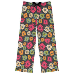 Daisies Womens Pajama Pants (Personalized)